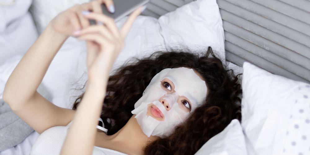 Cara memakai masker wajah lembaran tidak boleh terlalu lama