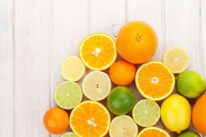 Asam sitrat dalam buah sitrus