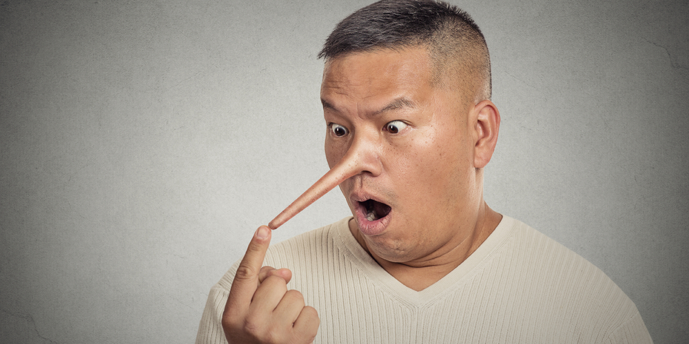 Istri perlu kenali ciri-ciri suami berbohong