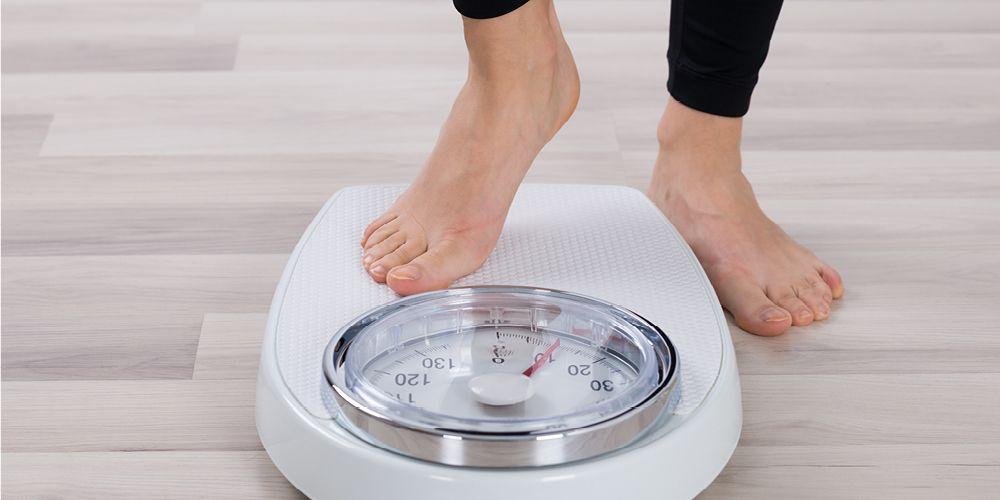 berat badan turun