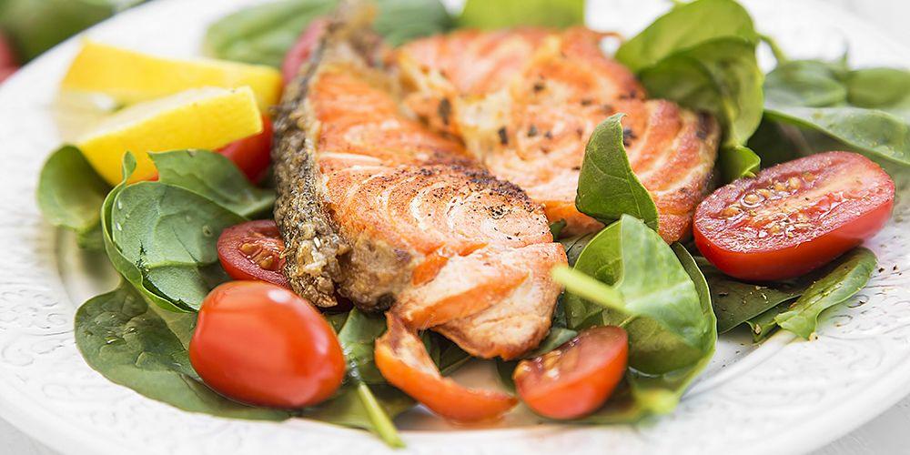 Ikan salmon mengandung omega-3