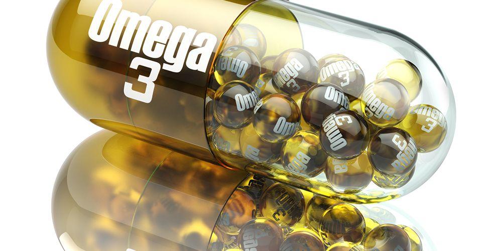 Suplemen omega 3 berguna untuk menyempurnakan asupan harian