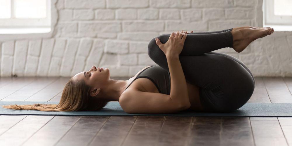 Gerakan yoga pawanmuktasana