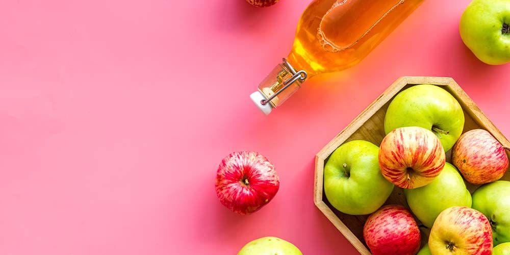 Cuka apel bisa dijadikan obat panas dalam alami