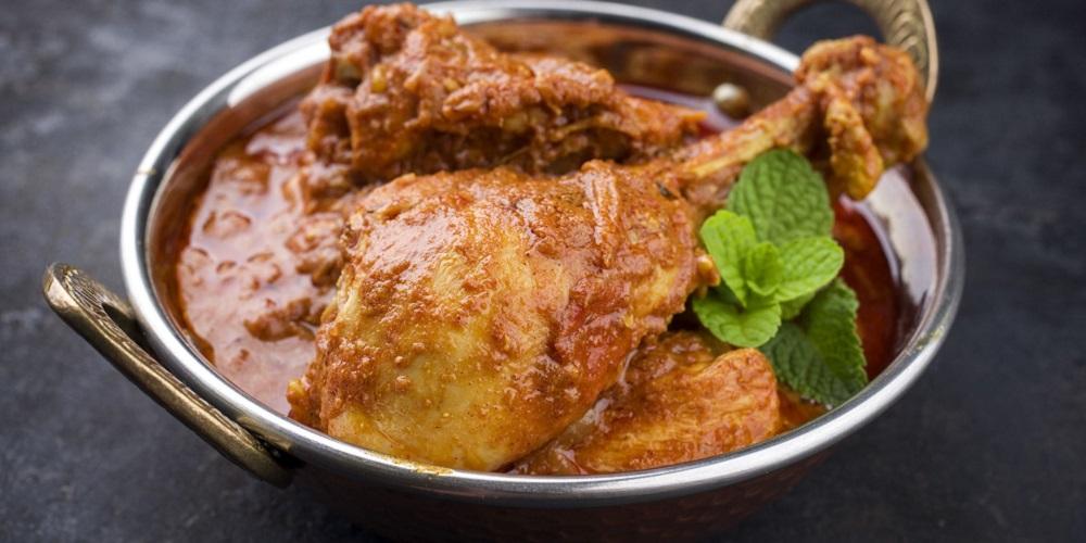 Kari ayam santan untuk diet keto