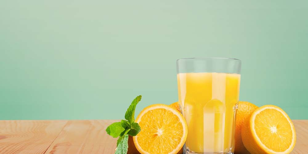 Jus penurun darah tinggi berikutnya adalah jus jeruk