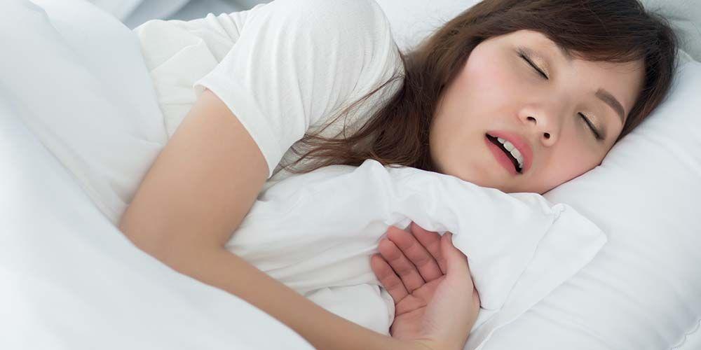 Tidur mulut terbuka bisa karena alergi