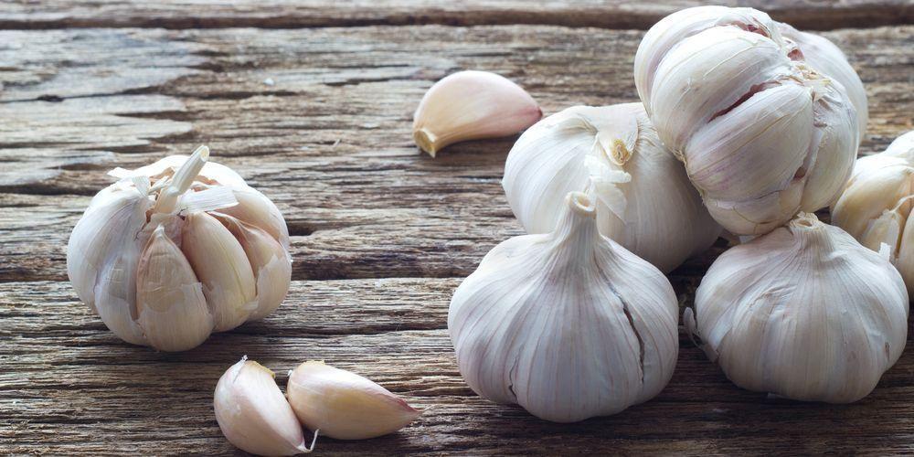 Bawang putih merupakan makanan yang mengandung kolagen tinggi