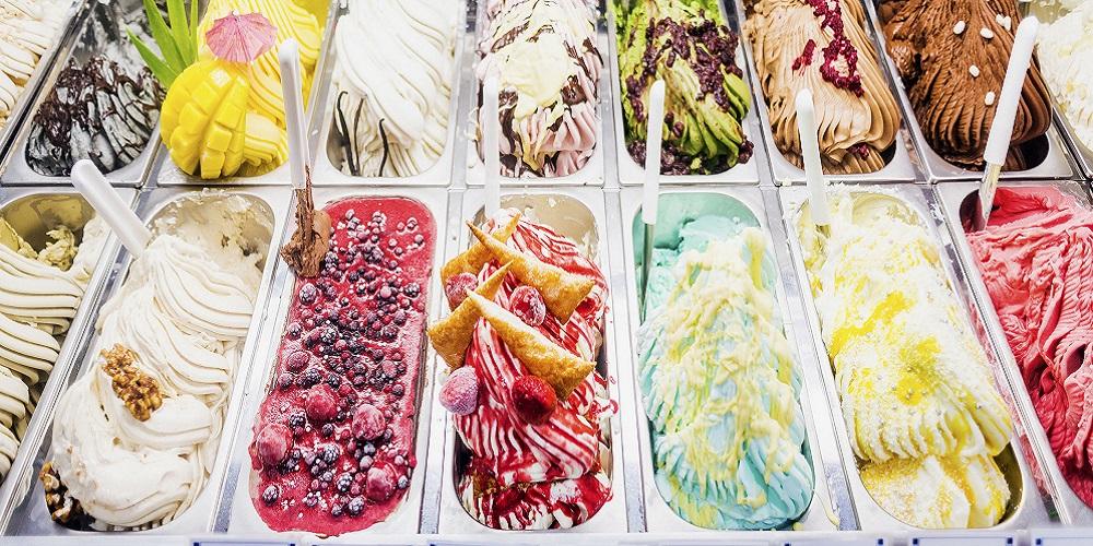 Gelato asal italia sedangkan es krim dari Tiongkok