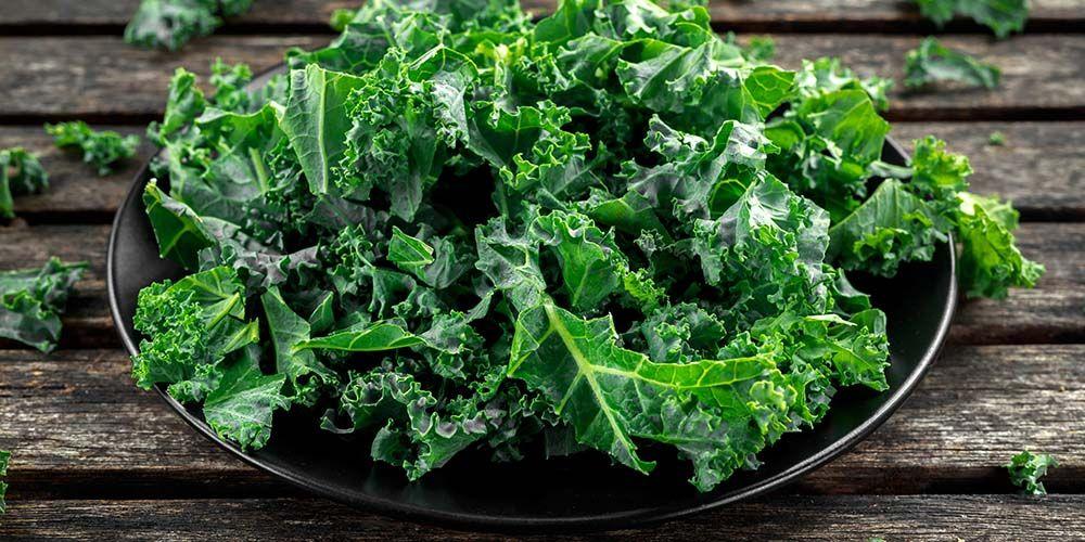 sayur kale kaya akan serat yang baik untuk pencernaan