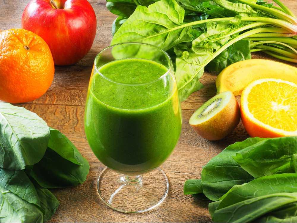 Minuman segar saat buka puasa berikutnya adalah jus hijau