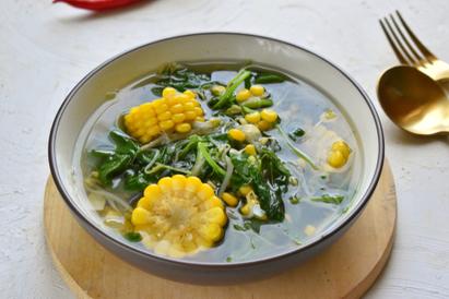 sayur bayam bening jadi menu favorit sayur segar untuk buka puasa