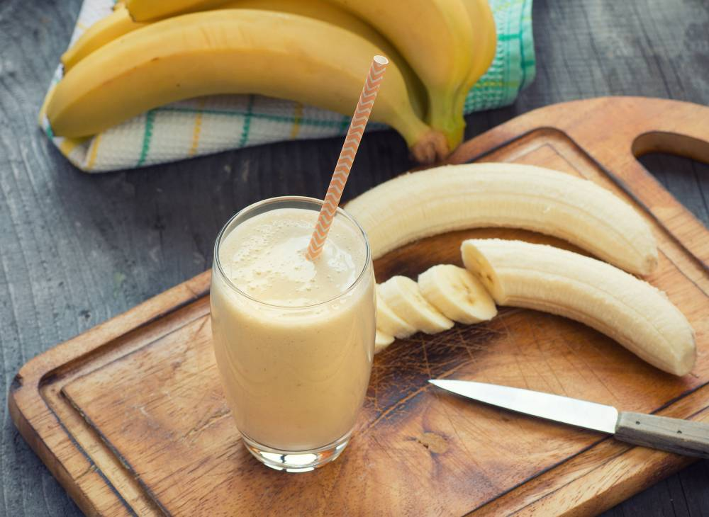 smoothies pisang