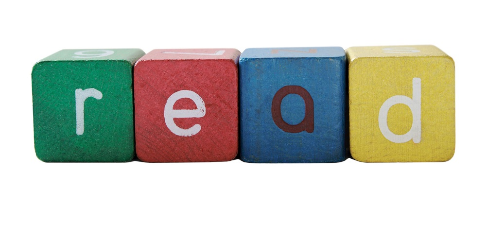 Blok huruf untuk membantu belajar membaca