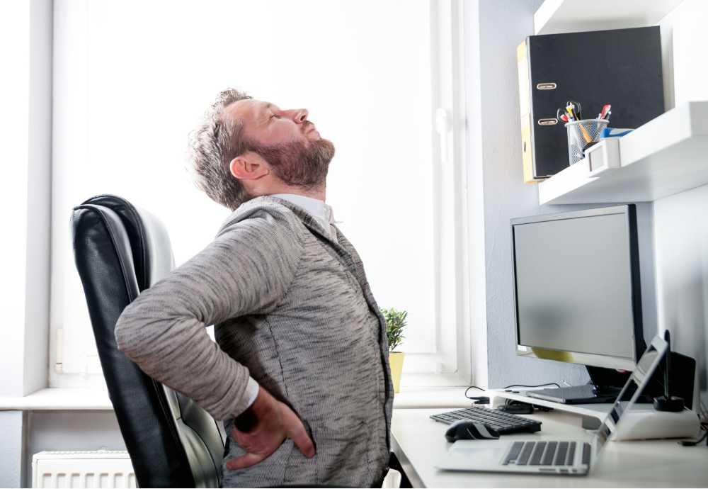 Postur tubuh yang kurang tepat adalah salah satu penyebab sakit punggung tengah