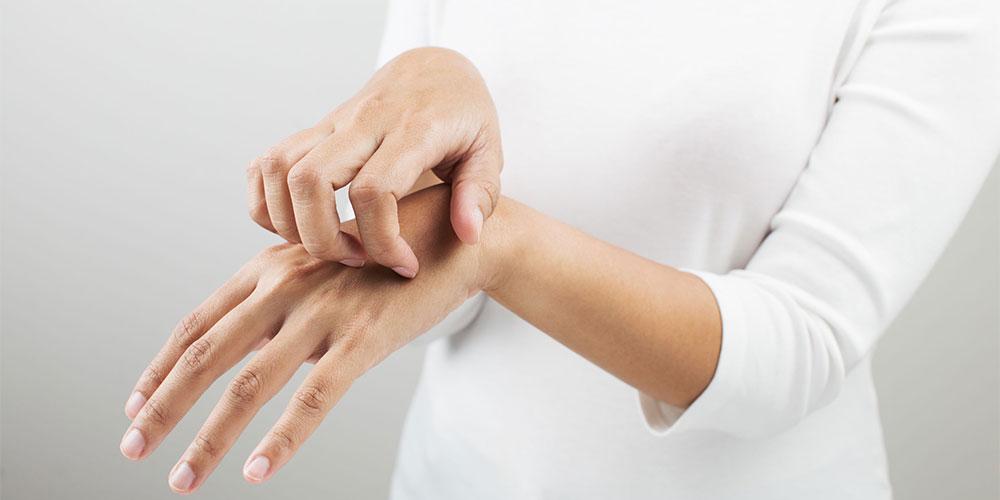 jari tangan yang kaku