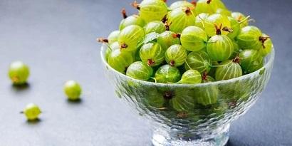 Gooseberry buah mengandung kalsium