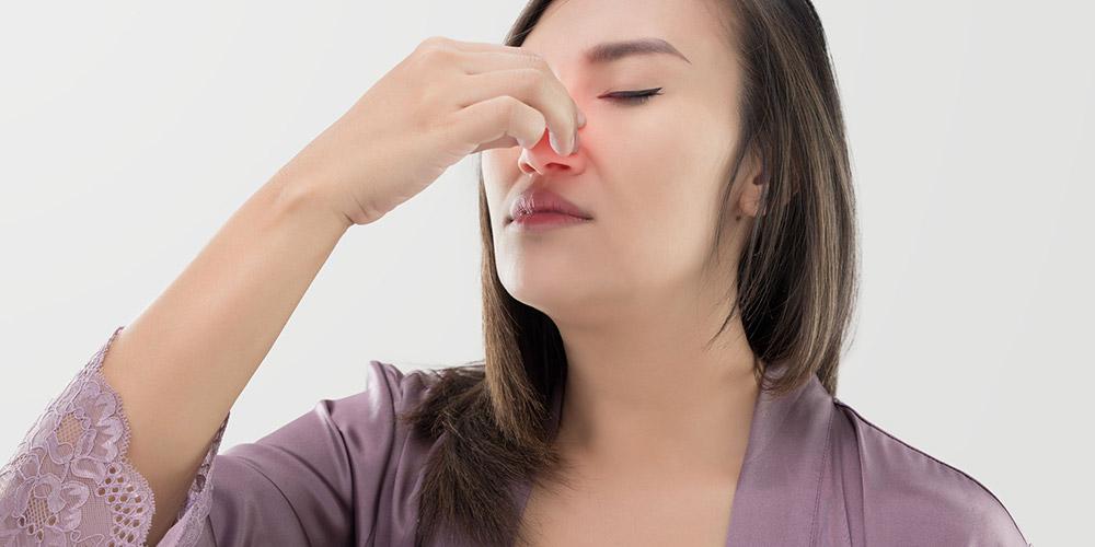 Gurah hidung juga bisa menyebabkan efek samping