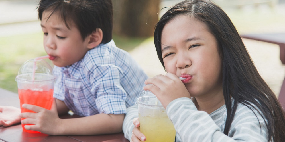 Penyebab perut kembung pada anak adalah soda