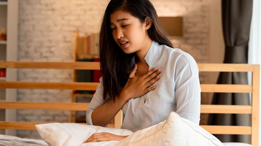 Sesak napas saat hamil yang terasa buruk bisa jadi ciri-ciri hamil kembar