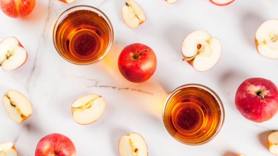 Jus apel mengandung banyak nutrisi yang penting