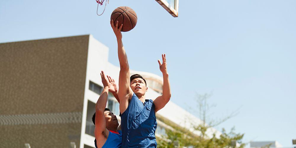 bola basket termasuk macam-macam olahraga berkelompok
