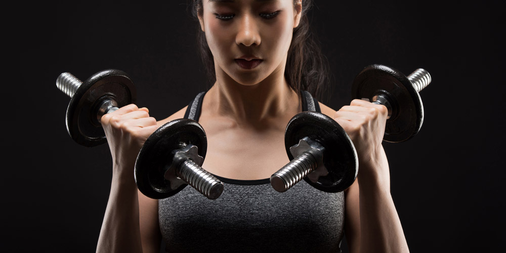 Latihan beban dapat menjadi olahraga untuk menaikkan berat badan