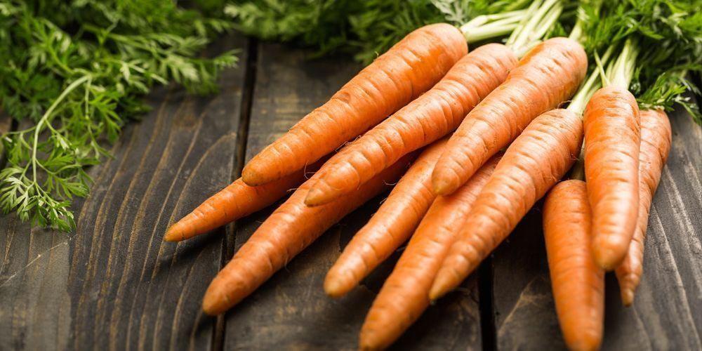 Ternyata wortel merupakan makanan yang mengandung vitamin B6