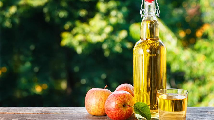 Cuka apel bisa mengempeskan benjolan