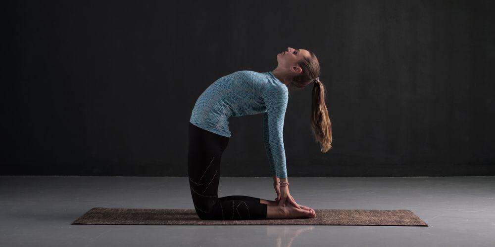 Gerakan yoga ushtrasana