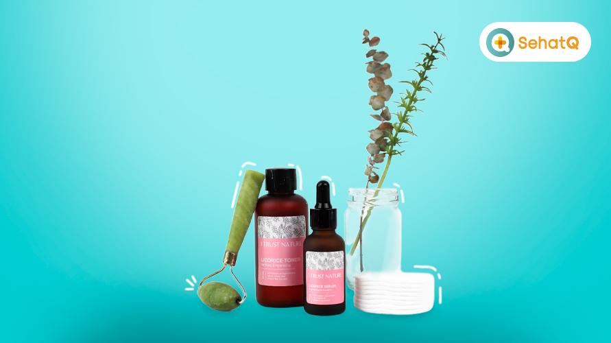 Licorice serum dan licorice toner dari I Trust Nature