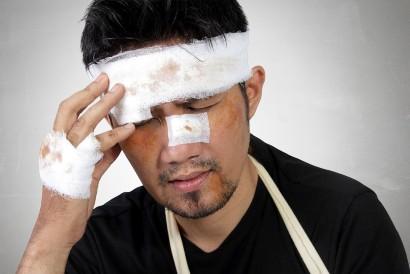 Trauma kepala dapat menyebabkan gangguan pada area Wernicke