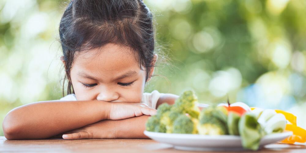 Anak 1 tahun susah makan sayur