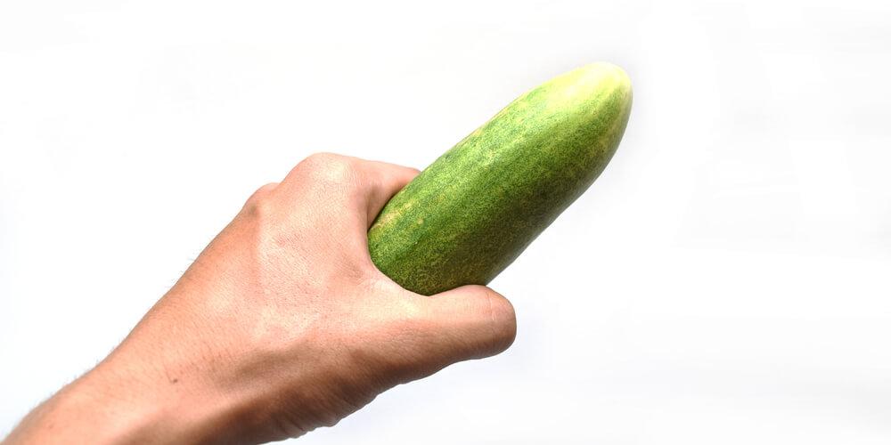 Bentuk penis seperti timun menjadikan pengalaman bercinta lebih nyaman