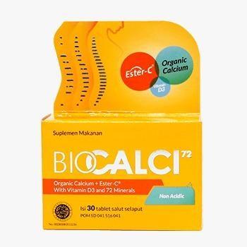 Biocalsi suplemen kalsium untuk tulang yang baik diminum selama bulan puasa