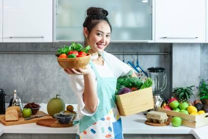 cuci sayuran sebelum dipotong