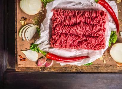 Daging merah sapi giling
