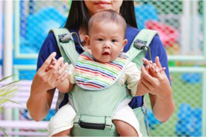 Gendongan bayi depan harus dilakukan sesuai prosedur