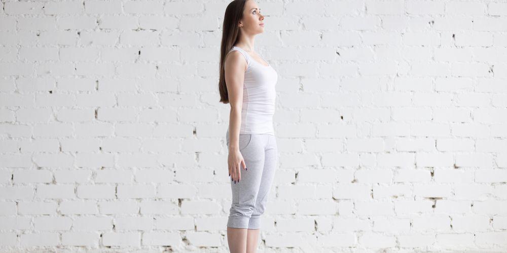 Mountain pose yoga, gerakan yoga untuk meninggikan badan