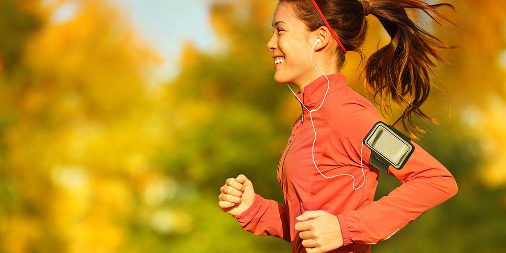 Berolahraga seperti jogging dapat membantu memberi ketenangan batin