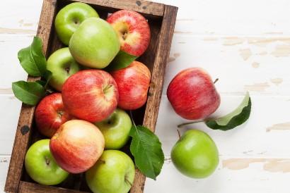 Kebutuhan serat harian bisa didapatkan dari buah apel