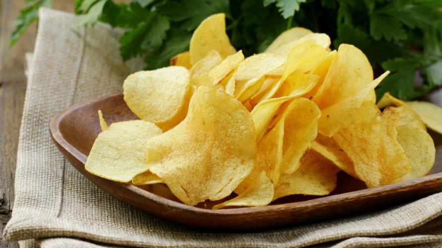 Keripik kentang gurih lebih enak ditambah rempah-rempah