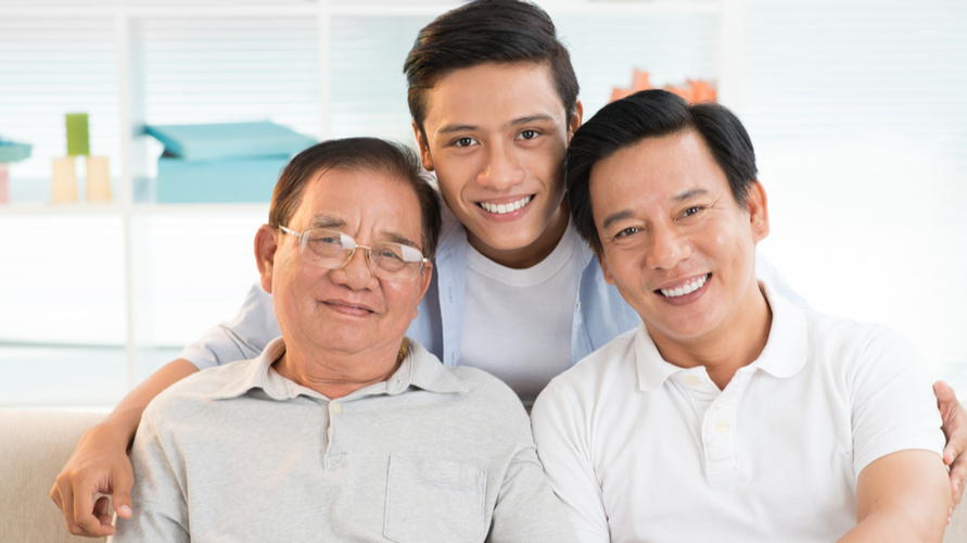 Keturunan (genetik) memengaruhi tinggi badan seseorang