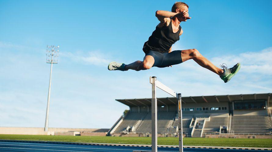 Lari gawang cabang olahraga lari dalam atletik