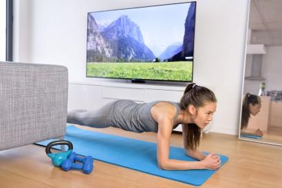 Plank merupakan latihan isometrik yang paling populer