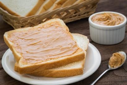 Roti dengan selai kacang bisa menjadi makanan setelah kemoterapi