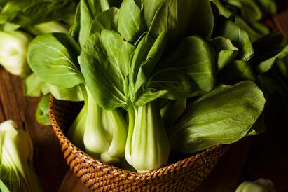 Sayuran hijau seperti pok choy bisa jadi makanan untuk mempercepat penyembuhan TBC