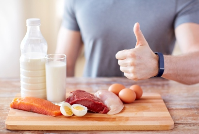 Pilihan makanan dalam diet tinggi protein