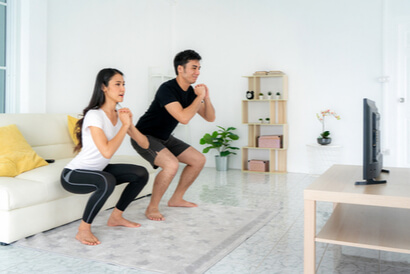Rutin berolahraga perlu dilakukan bila Anda sedang program hamil anak kedua