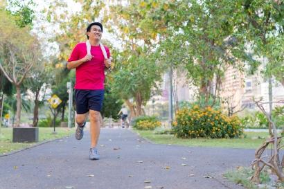 Jogging adalah olahraga pembakar lemak yang efektif turunkan berat badan